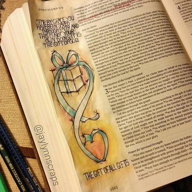 Created by: Jamie Severtson Dougherty - Bible Journaling, Bible Art Journaling