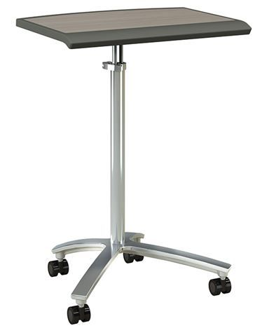 Izzy Penny mobile laptop table comes in various shapes and styles #solutionsstudio