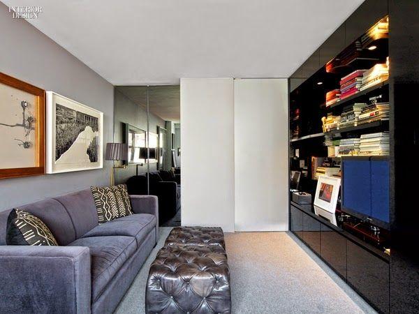 Un apartamento masculino y sexy en Manhattan · A sexy, masculine apartment in Manhattan