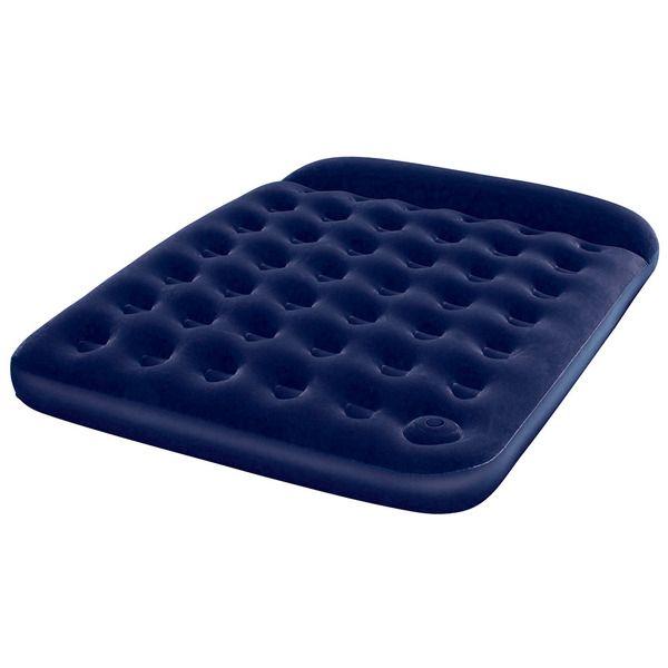Bestway 67226N Кровать флок203х152х22см (синяя)(3)