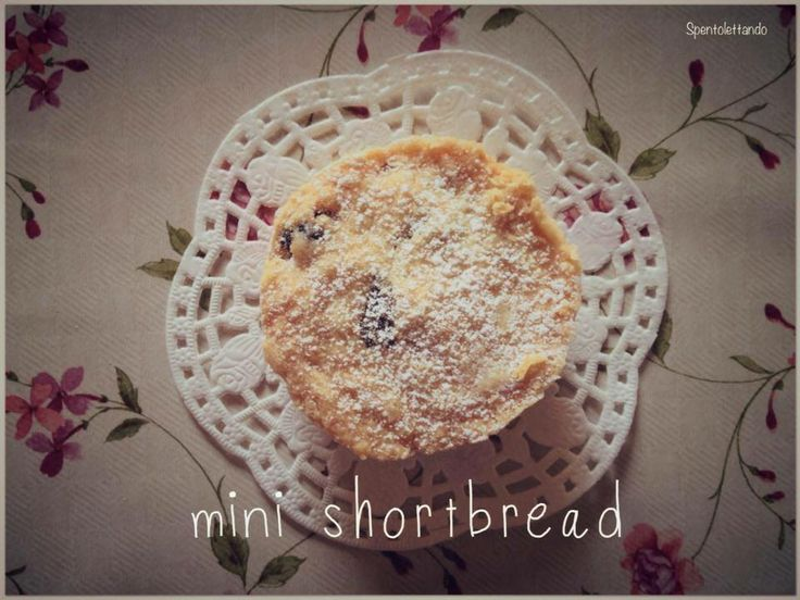 Mini shortbread #Spentolettando