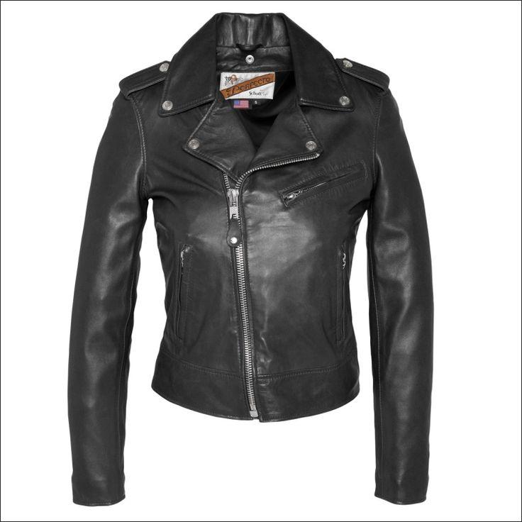 Γυναικείο δερμάτινο μπουφάν SCHOTT N.Y.C.  Μοντέλο: Original Perfecto Leather Jacket Δέρμα: black nappa Τιμή: 395€