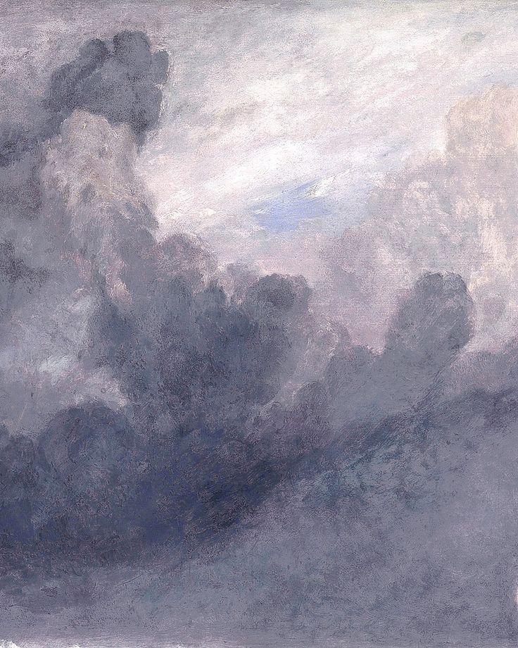 """ Joseph Mallord William Turner - Port Ruysdael; detail. """