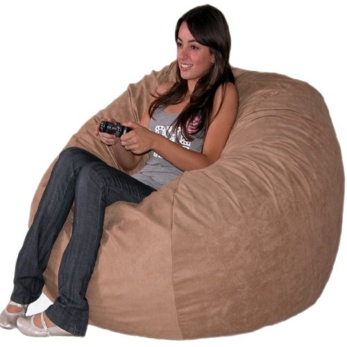 The Cozy Sac foam chair is the most comfortable place to sit anywhere. They are filled with the softest virgin urethane foam available. The urethane foam will spring back to normal size after every use and not go flat like the traditional bean bag chairs. The Cozy Sac foam chair will conform to you body like no other chair on the market. You can choose from 19 decorator colors. The material is made of 100% polyester made to feel like suede...