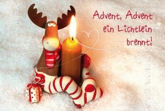 Advent, Advent ein Lichtlein brennt!