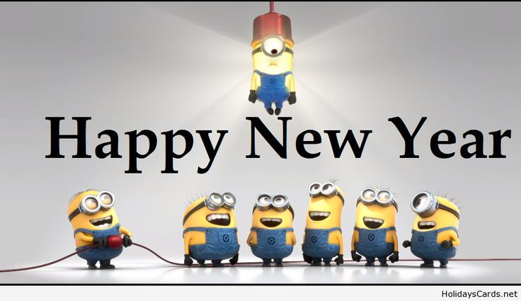 Are you ready for a Minions New Year? #Minions #Happy #NewYear