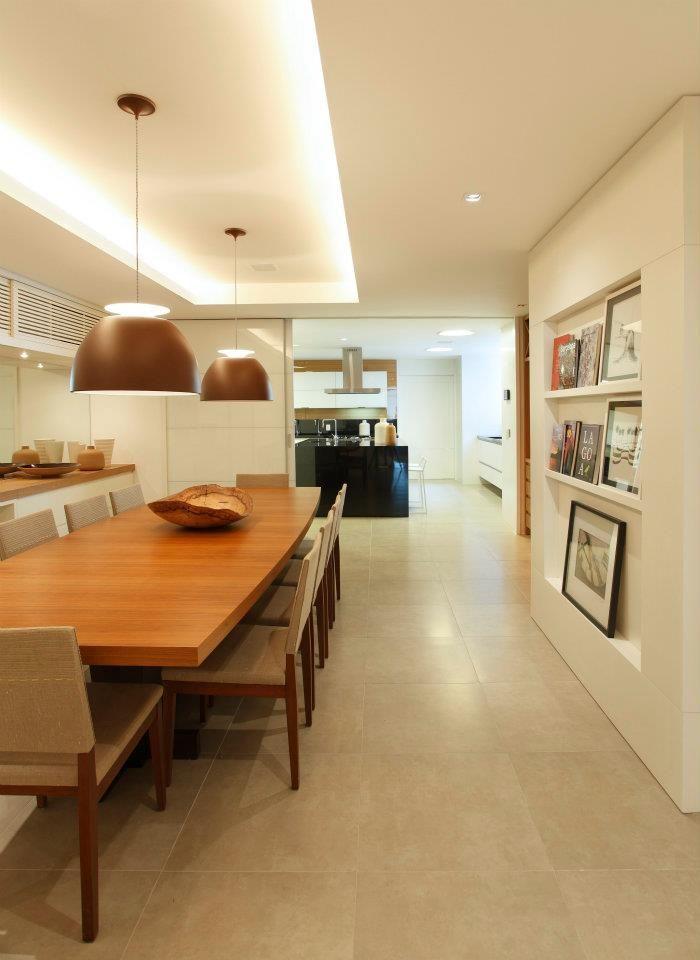 sala jantar / cozinha gourmet / ambiencia / iluminação