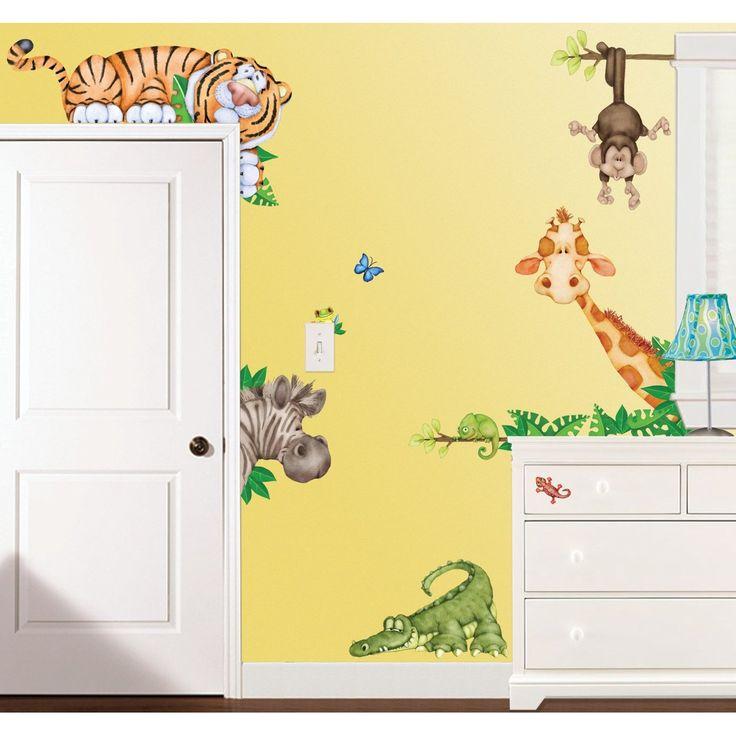 Jungle Theme Baby Room Decor. Affordable Natural Room Decor Boys ...