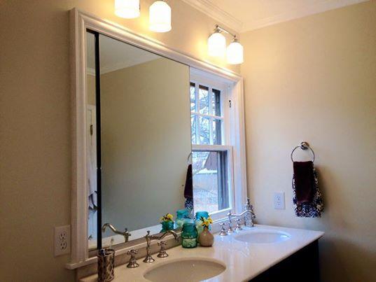 Bathroom Sinks Under Windows 7 best bathroom mirror images on pinterest | bathroom ideas