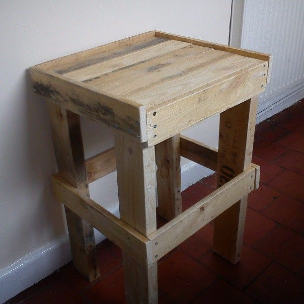 This Is A Bedside Table I Made From The Upcycle Of An Old