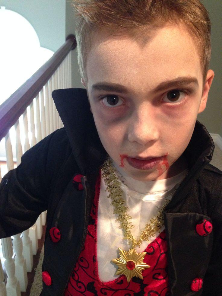 Dracula makeup