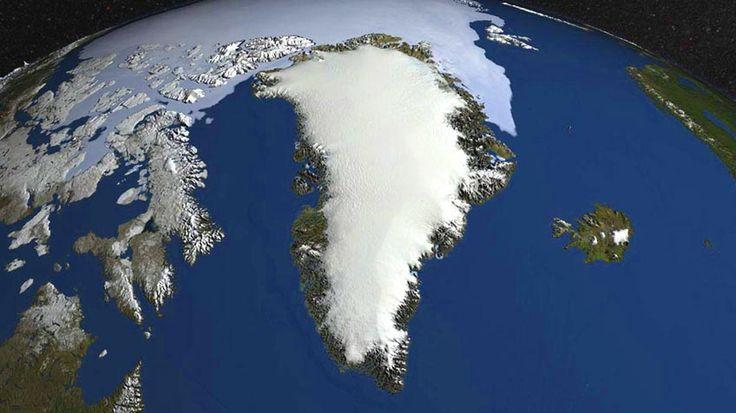 Het verse sneeuwdek op Groenland groeit de afgelopen maanden veel sneller dan in de afgelopen 25 jaar. Hieronder ziet u de grafiek van de totale sneeuw aangroei vanaf 1september 2016, ongeveer het moment in het jaar waarin de dooi afgelopen is en de aangroei van sneeuw en ijs weer begint