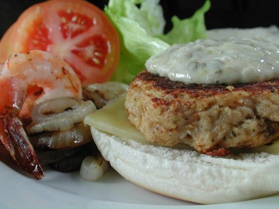 Nutty For New England Naughty But Nice Crab Burger Recipe - Food.com