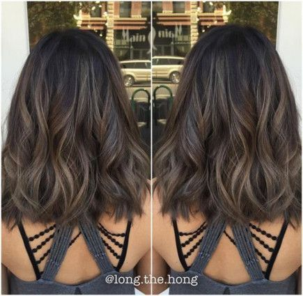 35 New Ideas For Hair Color Asian Highlights Short Hairstyles -