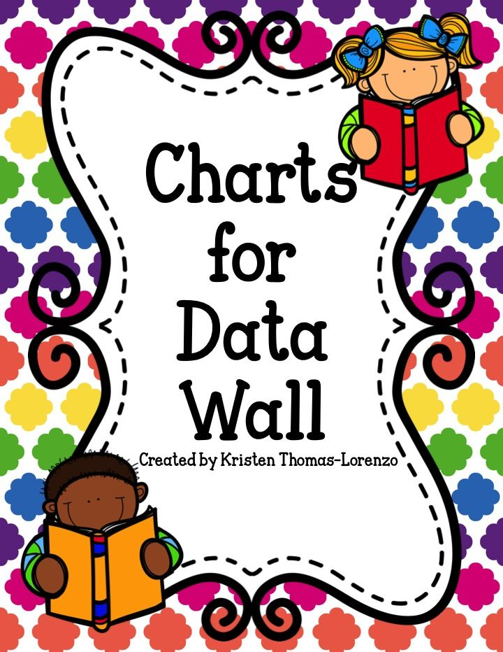 This product contains several charts for teachers to use for their Data Walls. Progress can be tracked by the entire class or individual students.