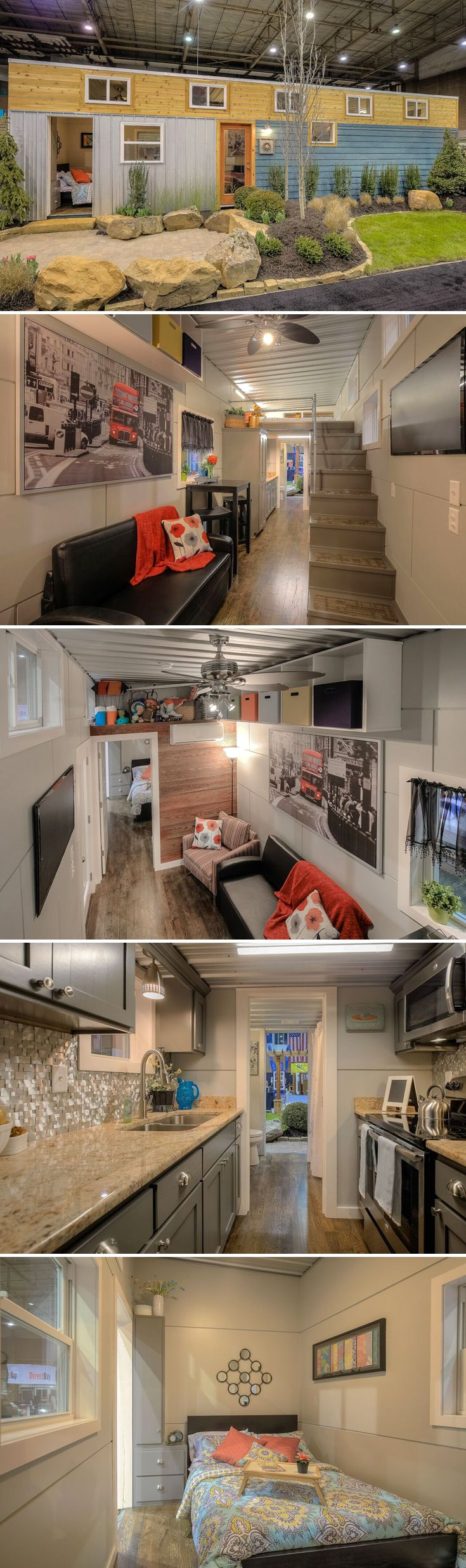 1966 best tiny house dreamin 39 images on pinterest tiny for Tiny house with main floor bedroom