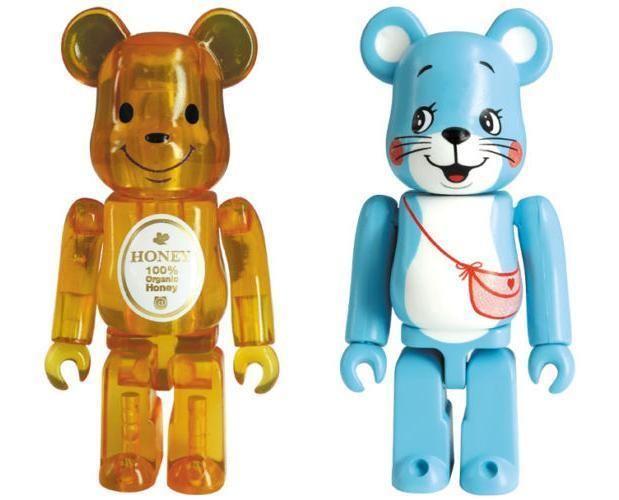 Bearbrick Series 31 Medicom ANIMAL Blue Teddy