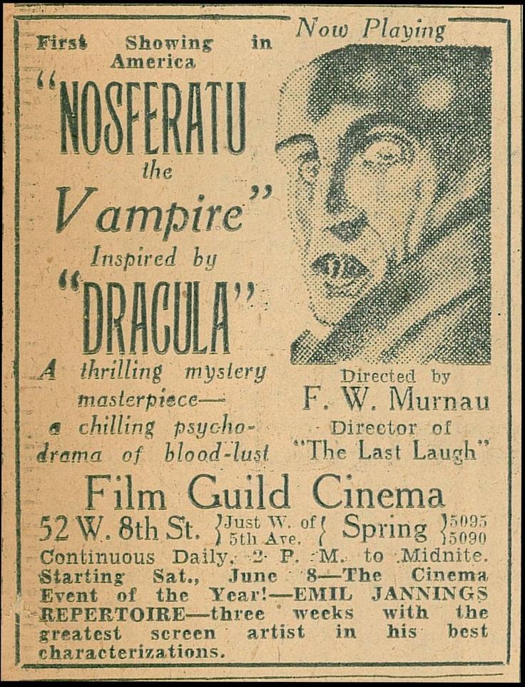 nosferatu essay Nosferatu (1922) on imdb: plot summary, synopsis, and more.