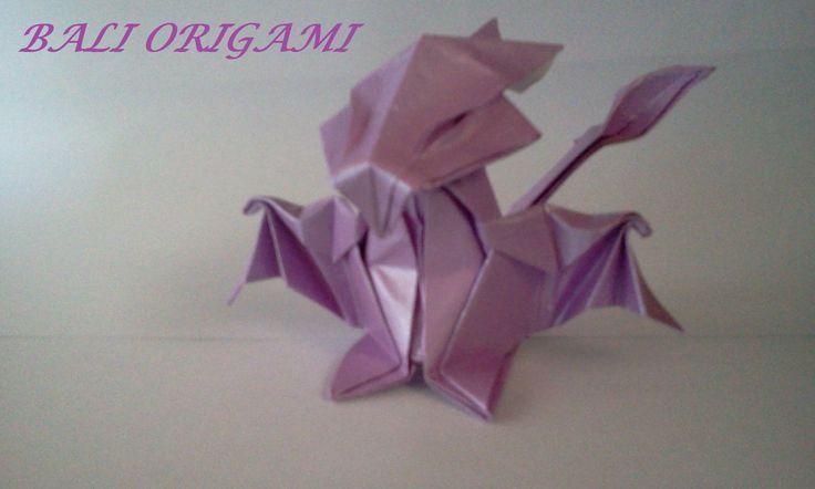 How to make Origami Dragon (daniella carboni)