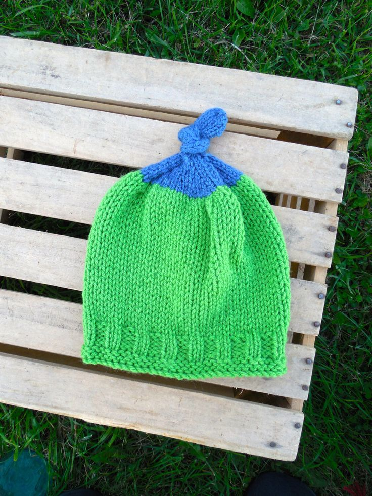 A personal favorite from my Etsy shop https://www.etsy.com/listing/204770343/toddler-bright-green-and-navy-blue-hat
