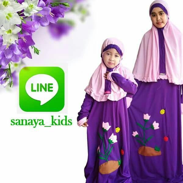 Akun resmi Line Sanaya Kids