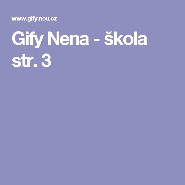Gify Nena - škola str. 3