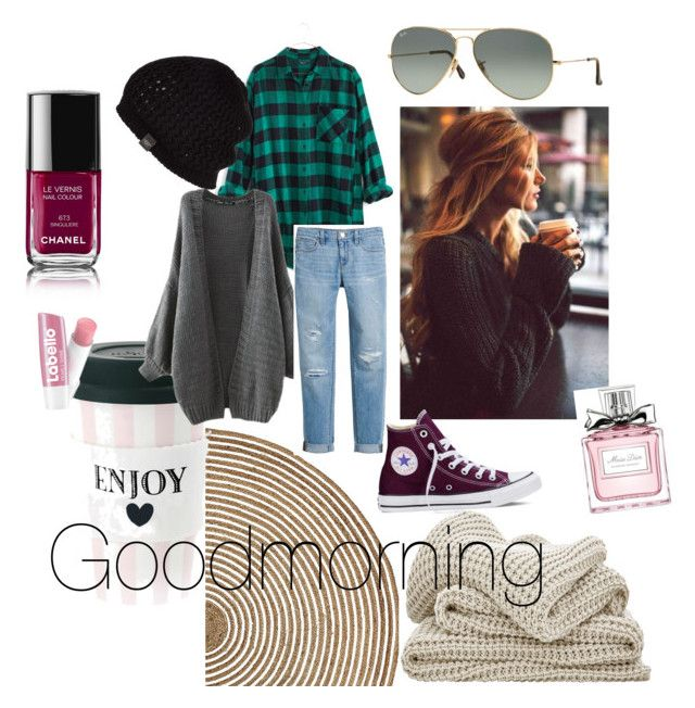 COFFEE BREAK!!! by antonella-ienna on Polyvore featuring polyvore, fashion, style, Madewell, White House Black Market, Converse, UGG Australia, Ray-Ban, Christian Dior, Chanel, Serena & Lily, women's clothing, women's fashion, women, female, woman, misses and juniors