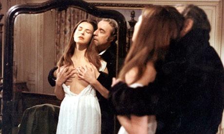 Carole Bouquet and Fernando Rey in Buñuels That Obscure Object of Desire.