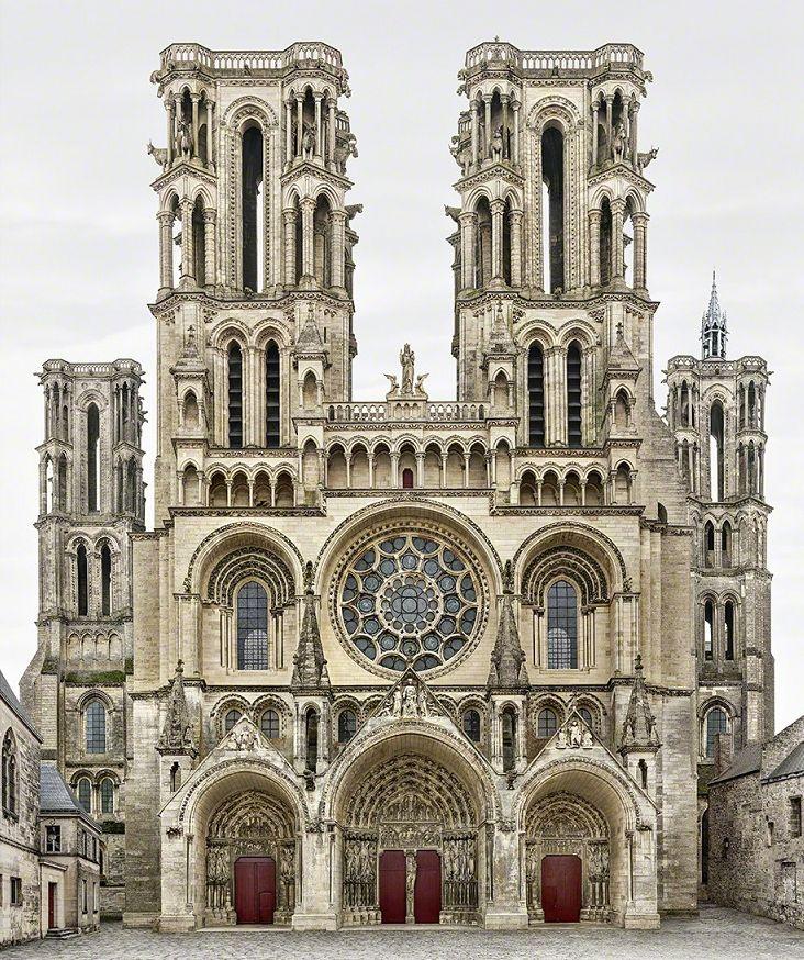 Cathedral Notre-Dame de Laon, Laon, FRANCE