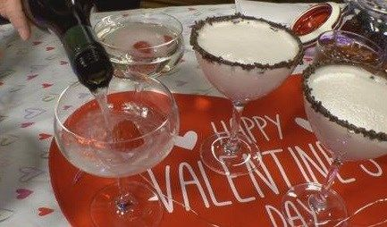 Stagioni Bartender, Russ Johnson shares three cocktails that will get you in the Valentine's Day mood.