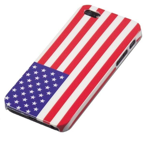 MobiGear Hard Case USA Vlag voor Apple iPhone 5S / 5