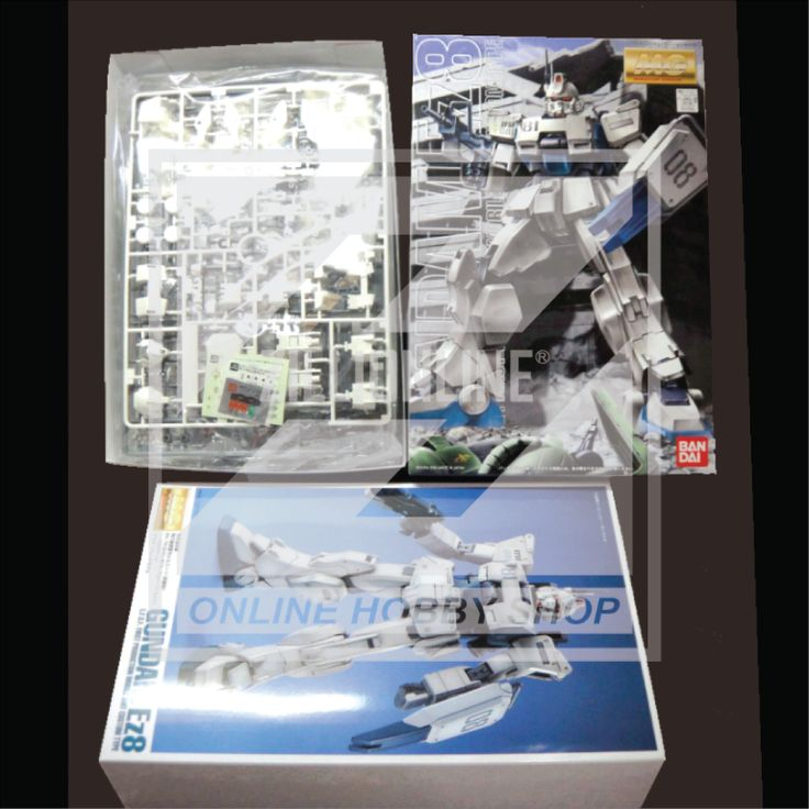[MODEL-KIT] MG 1/100 - RX-79(G) - GUNDAM EZ8.Item Size/Weight: 31 x 20 x 10 cm / 612g*. (*ITEM SIZE & WEIGHT BEFORE PACKAGED). Condition: MINT / NEW & SEALED RUNNER. Made by BANDAI.