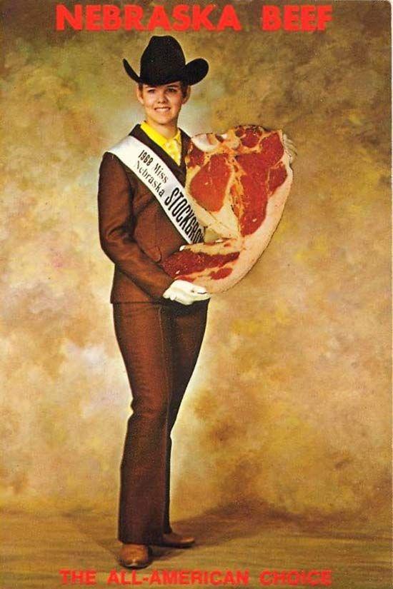 Miss Nebraska Stock Grower, 1968.
