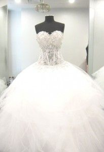 The #PninaTornai Wedding Gown - Nothing Like It!
