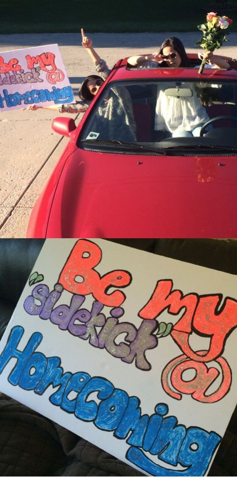 homecoming proposals just don't end , helping a friend ask his date #homecoming…