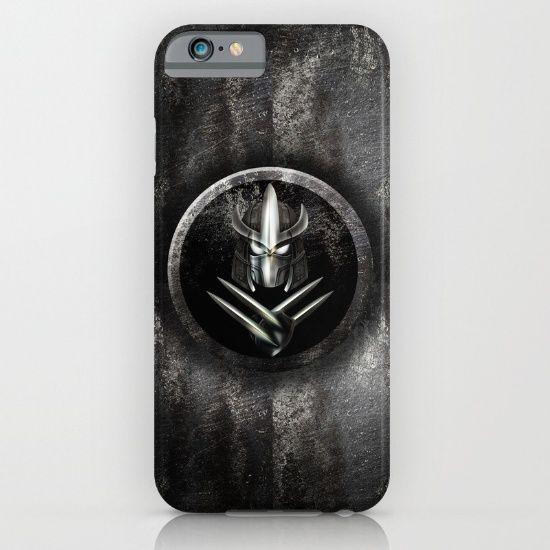 Rustic Metal samurai shredder Mask  iPhone & iPod Case #Case #CellPhone #hardcase #cover #ninjaturtles #ninja #turtles #teenage #mutant #leonardo #donatello #raphael #michelangelo #turtlepower #footsoldier #shredder
