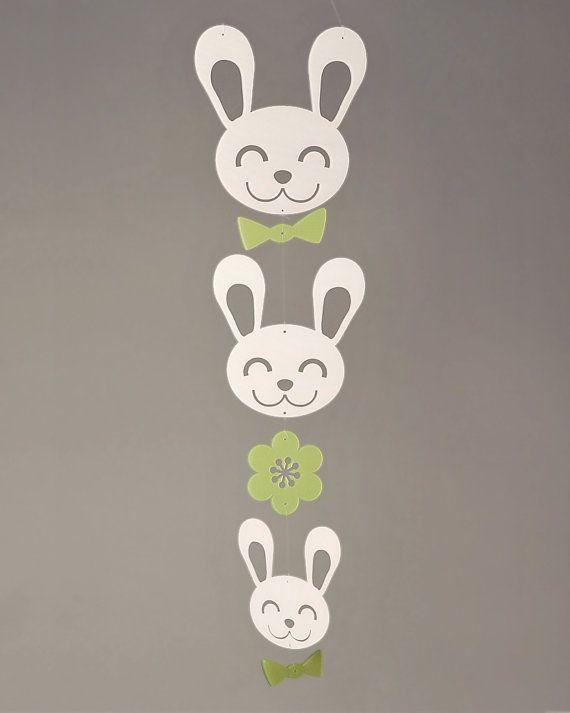 Spring Bunny Mobile (Petite)