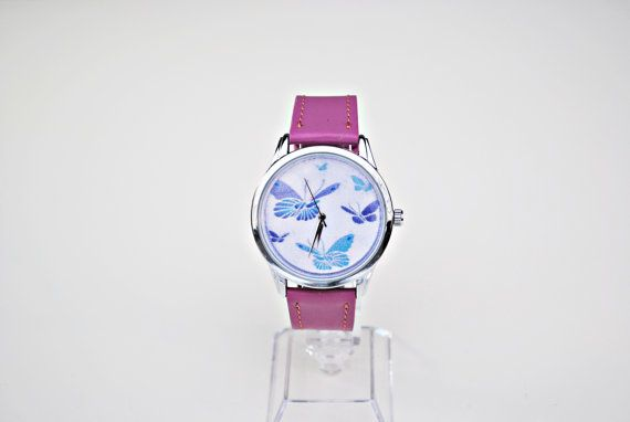 Check out this item in my Etsy shop https://www.etsy.com/listing/482154736/butterfly-watch-cute-watch-funny-watch