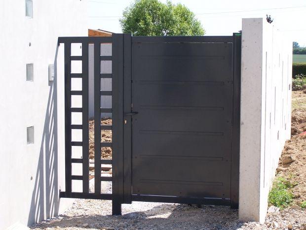 Fabricant portails et portillons en acier sur nantes et for Portillon acier