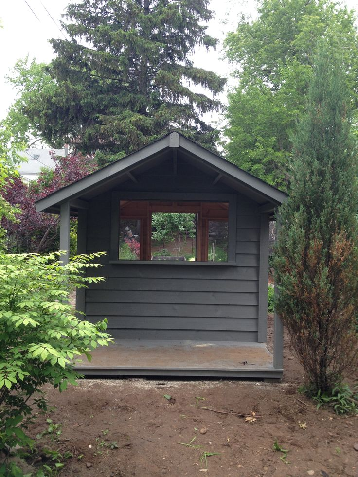 8x8 garden shed with 4 foot gable porch - Garden Sheds 8x8