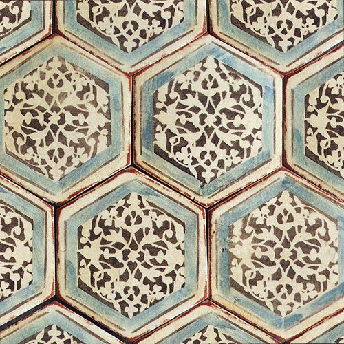izmir hexagon 12 httpwwwartistictile - Decorative Tile