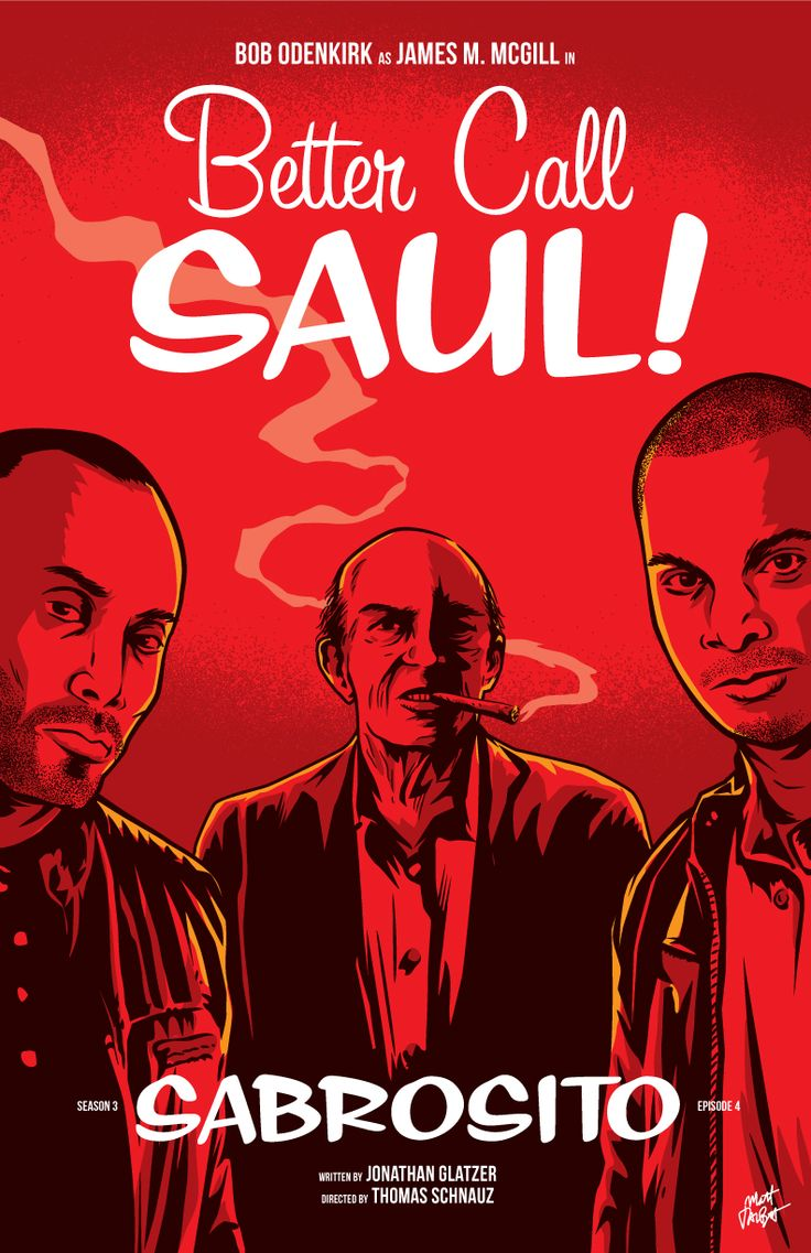 Better Call Saul season 3 episode 4 poster by Matt Talbot