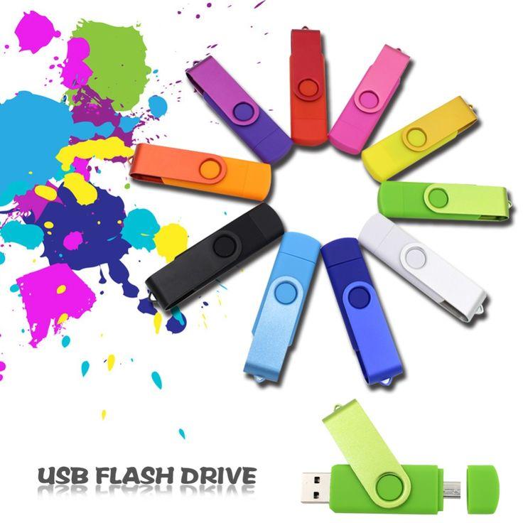 OTG usb flash drive pen drive 4 gb 8 gb 16 gb 32 gb 64 gb micro usb Téléphone Intelligent clé usb de stockage externe Mémoire bâton pour Samsung