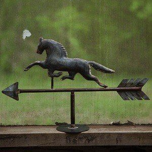 Horse Weathervanes | Tabletop Weather Vanes | Equestrian Home Decor