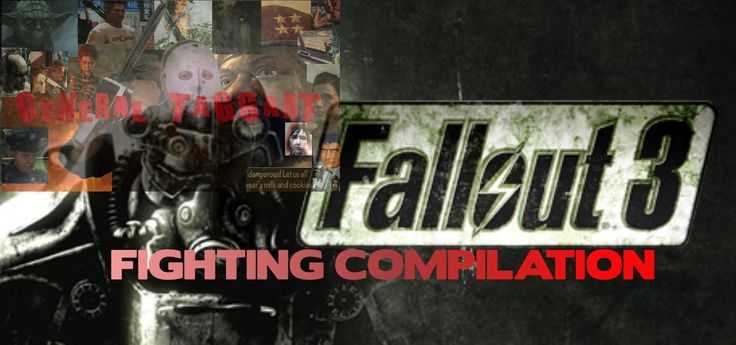 Fighting and killing in Fallout 3 battle compilation.