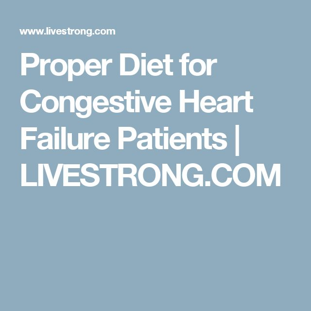 Congestive Heart Failure Diet for Dogs