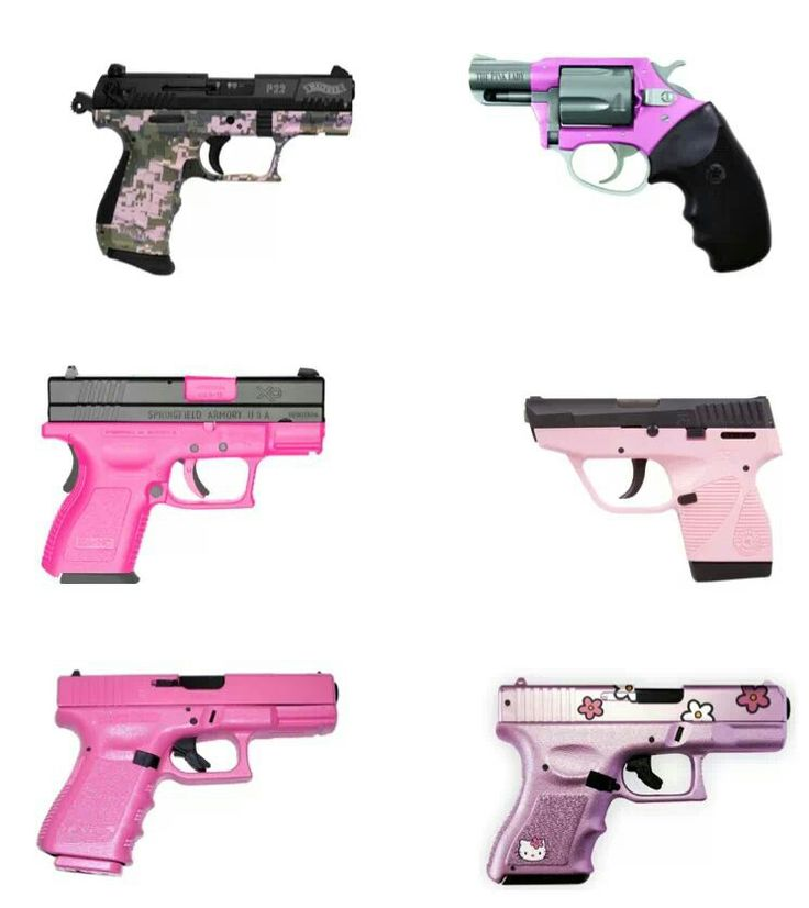 Girly guns. And there aint nothing wrong about it!...oh yes