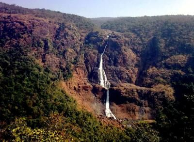 Barehipani Falls in Orissa, its tallest single drop is 259 metres. Photo credit: walkthroughindia.com