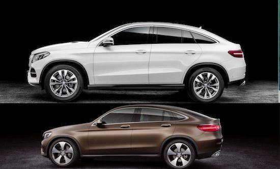 Awesome Mercedes: Vergelijking: de Mercedes GLE Coupé vs de GLC Coupé  Nieuws Check more at http://24car.top/2017/2017/04/27/mercedes-vergelijking-de-mercedes-gle-coupe-vs-de-glc-coupe-nieuws/