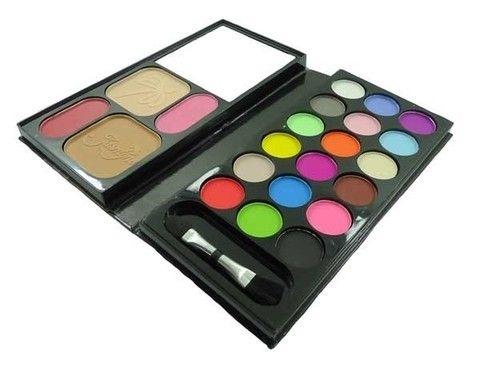 📣📣 KIT MAQUIAGEM JASMYNE COM SOMBRAS FOSCAS, POR R$ 18,90.  Esse kit de maquiagem contém: 18 sombras foscas; 2 blushes; 2 pós faciais; 1 pincel para blush e sombra (2 em 1); 1 espelho.    🚚Entregamos para todo Brasil!    💻www.jccosmeticos.com.br  #makeup #beauty #makeupartist #fashion #cosmetics #instamakeup #maquiagem #make #beleza #instabeauty #maquiadora #makeuplovers #blog #amomaquiagem #lojavirtual #novidades #lojaonline #Macrilan #Pinceis #limpapinceis #esponja #paletasdemaquiagem